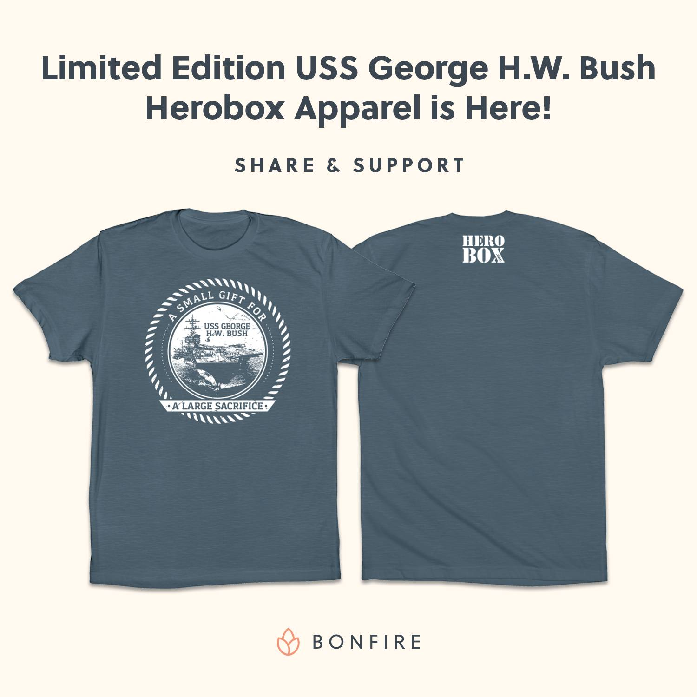 Help Support the USS George H. W. Bush Naval Fleet!