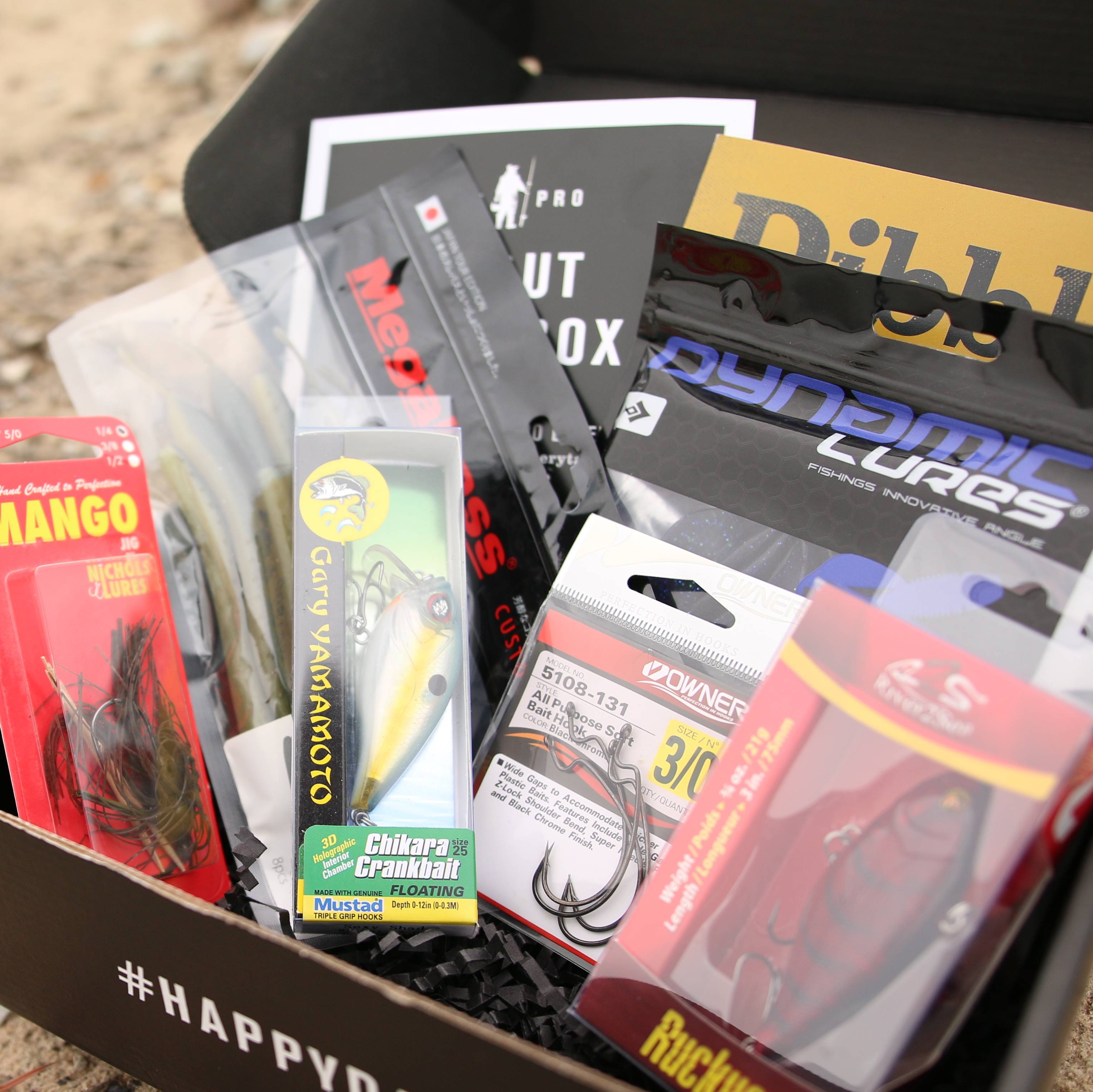 Mystery Tackle Box Partners with HeroBox!